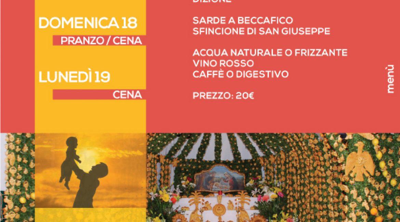 SAN GIUSEPPE E FESTA DEL PAPÀ 2018